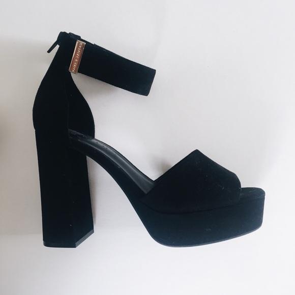 6a4f22c3a74 Charles & Keith Black Platform Heels
